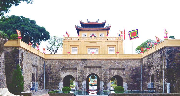 Cổng Đoan Môn ở Hoàng Thành Thăng Long