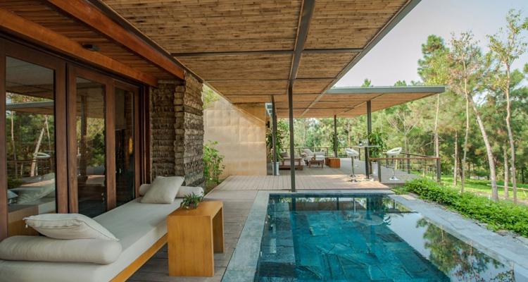 khu nghỉ dưỡng Flamingo Đại Lải Giá phòng Villa