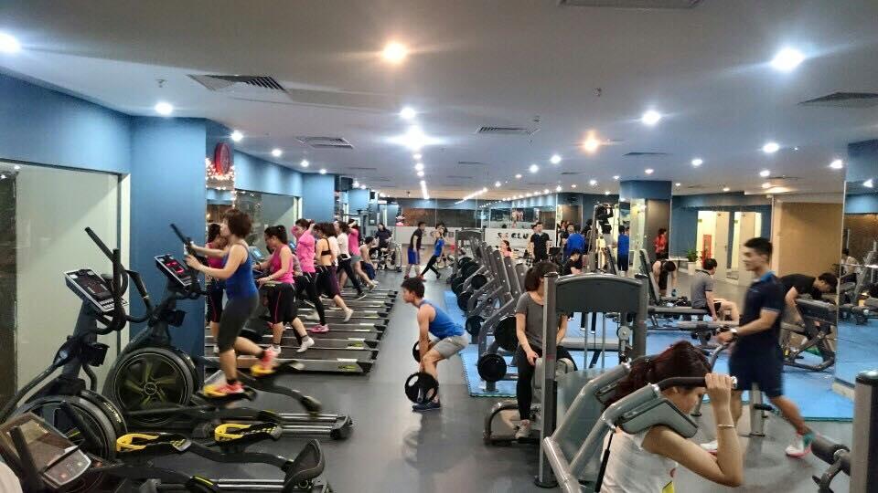 aeon mall long biên fitness