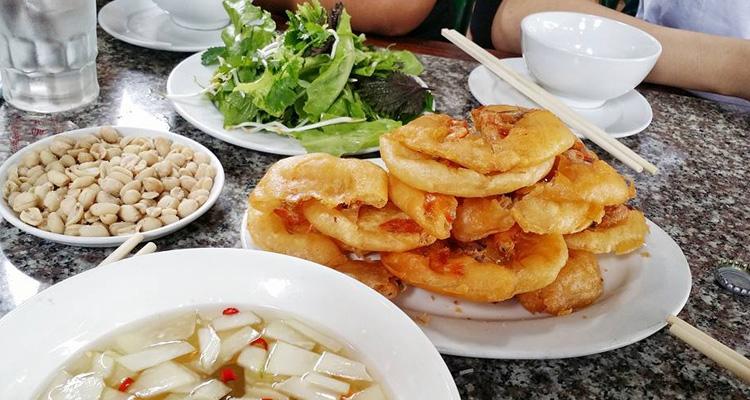 Bánh tôm Hồ Tây Hà Nội