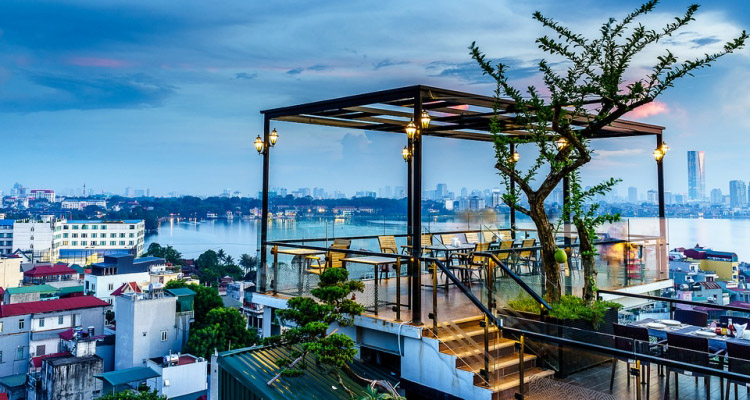 Cafe Hồ Tây 2