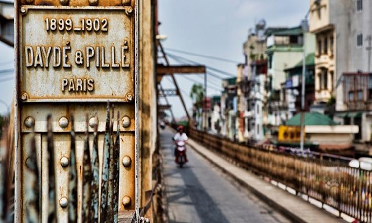 Cầu Long Biên Hà Nội 1902