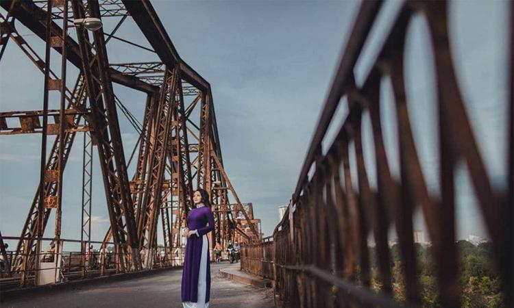 Cầu Long Biên Hà Nội checkin