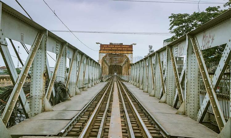 Cầu Long Biên Hà Nội đường tàu