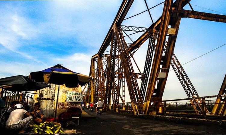 Cầu Long Biên Hà Nội cổ kính