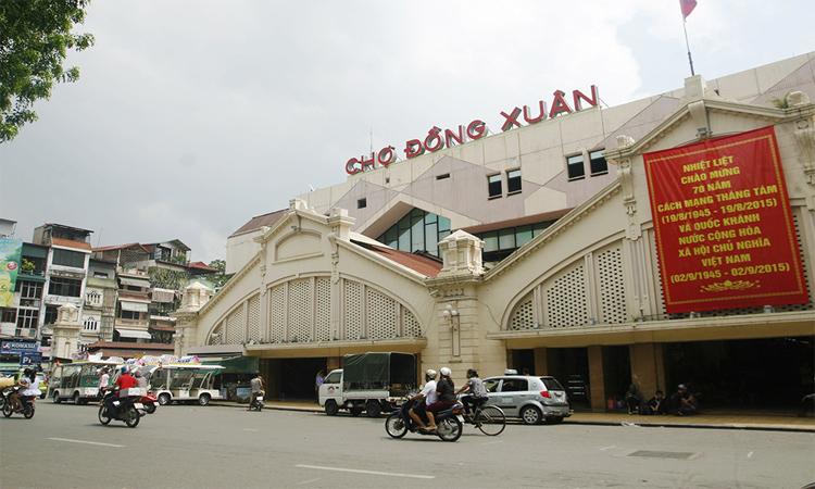 Chợ Đồng Xuân Hà Nội ngày nay