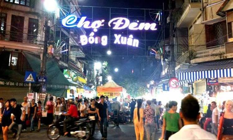 Chợ Đồng Xuân Hà Nội - phiên chợ đêm