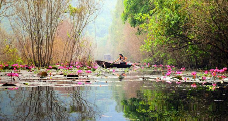 Hình ảnh suối Yến chùa Hương Hà Nội