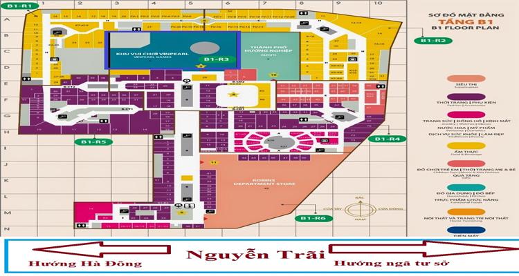 Royal City - bản đồ