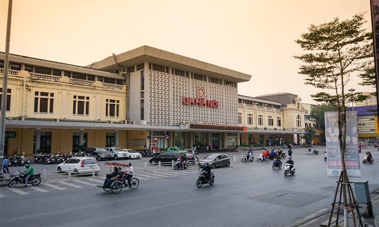 Ga Hà Nội - chiều tàn