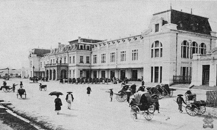 Ga Hà Nội - lúc chiến tranh