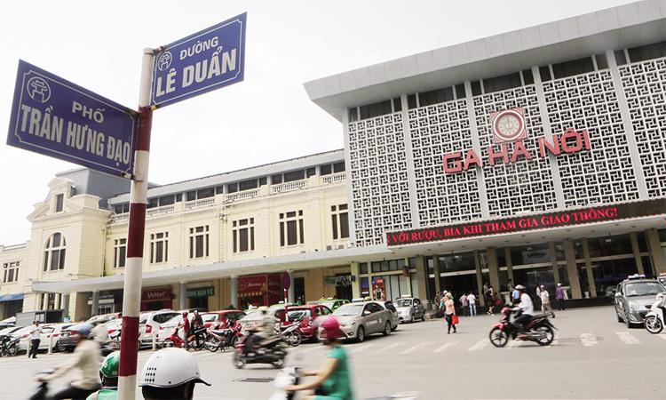 Ga Hà Nội - vị trí