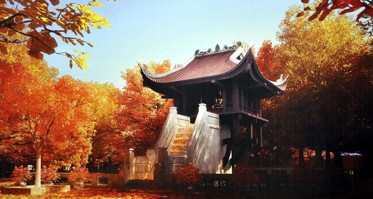 Hình ảnh chùa Một Cột Hà Nội