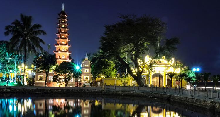 hình ảnh chùa một cột hà nột