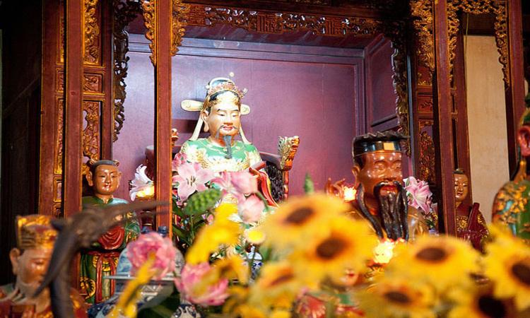 ảnh Hồ Gươm Hà Nội - đền thờ