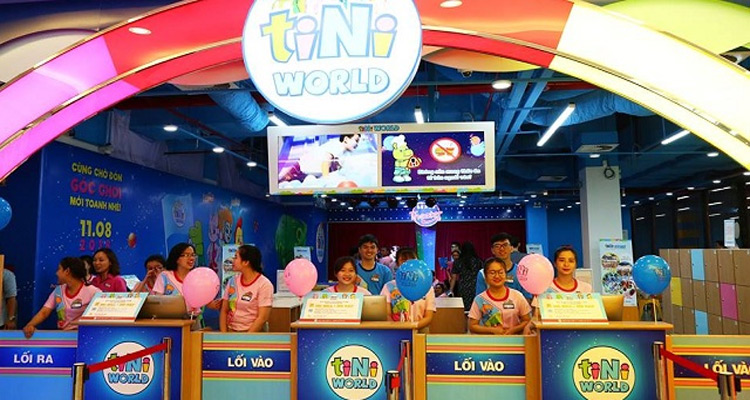 7 địa điểm khu vui chơi Tiniworld