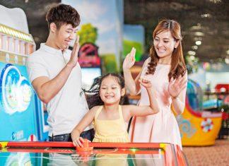 Khu vui chơi trẻ em cho bé ở Hà Nội