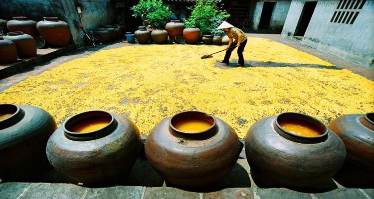 Làng cổ Đường Lâm - Đặc sản ở Đường Lâm