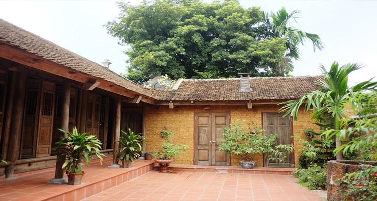 Làng vổ Đường Lâm - nét đẹp của ngôi nhà cổ