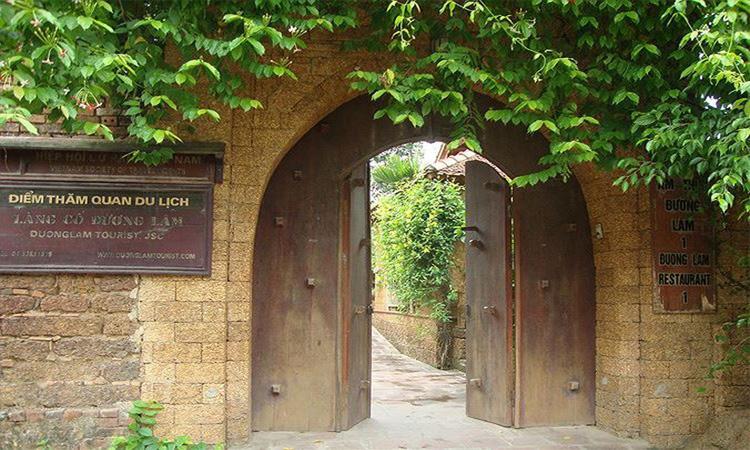 Giới thiệu về Làng cổ đường Lâm - giản dị