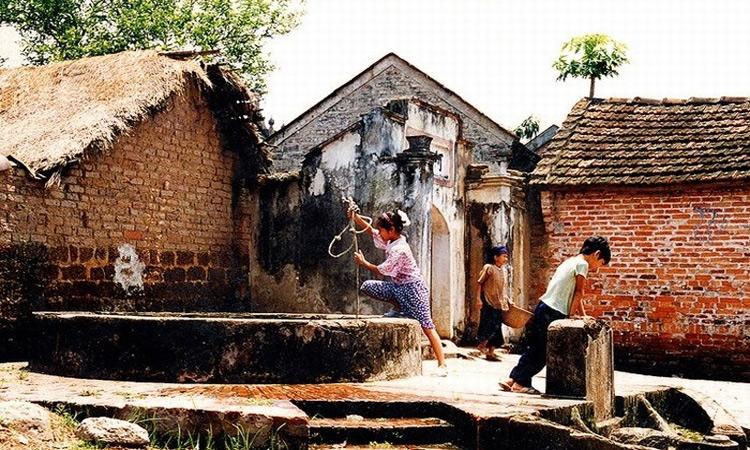 Giới thiệu về Làng cổ đường Lâm - giếng cổ