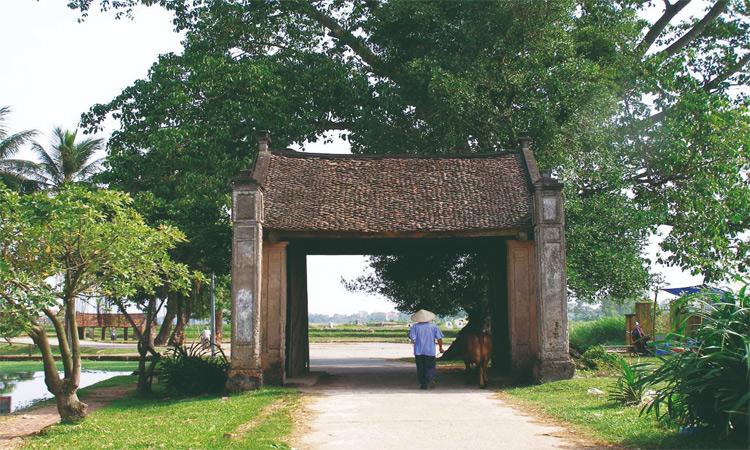 Giới thiệu về Làng cổ đường Lâm - cổng làng cổ
