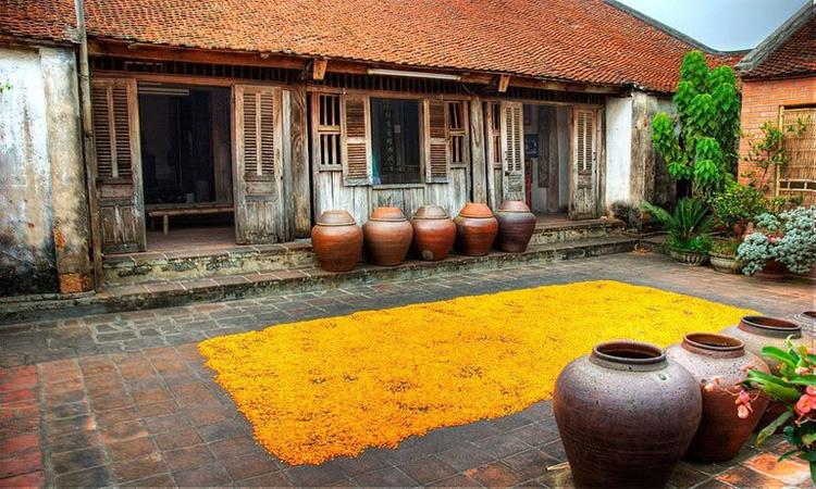 Giới thiệu về Làng cổ đường Lâm - ngói đỏ
