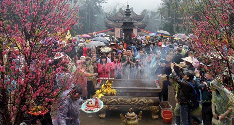 hội chùa Hương đầu năm
