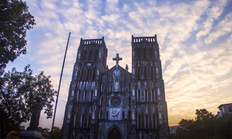 Nhà thờ lớn hà nội - lộng lẫy