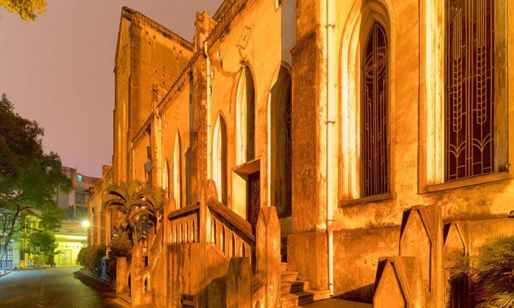 nhà thờ lớn hà nội - lối đi