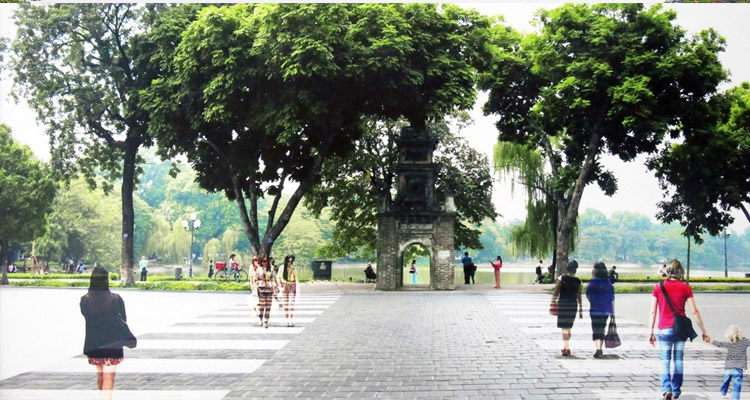 Tượng đài Lý Thái Tổ - tháp Hòa Phong