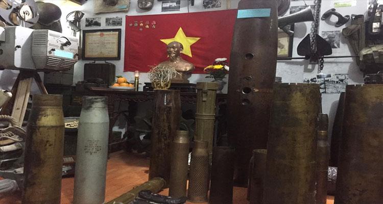 Khu Trưng bày hiện vật chiến tranh - Long Việt