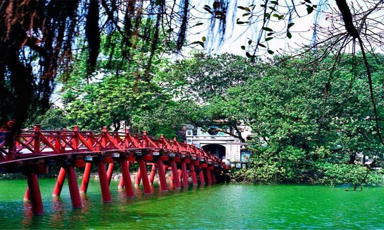 ảnh Hồ Gươm Hà Nội 2019