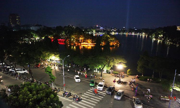 ảnh Hồ Gươm Hà Nội - toàn cảnh