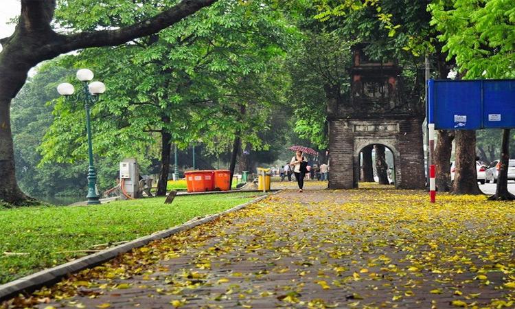ảnh Hồ Gươm Hà Nội -mùa thu