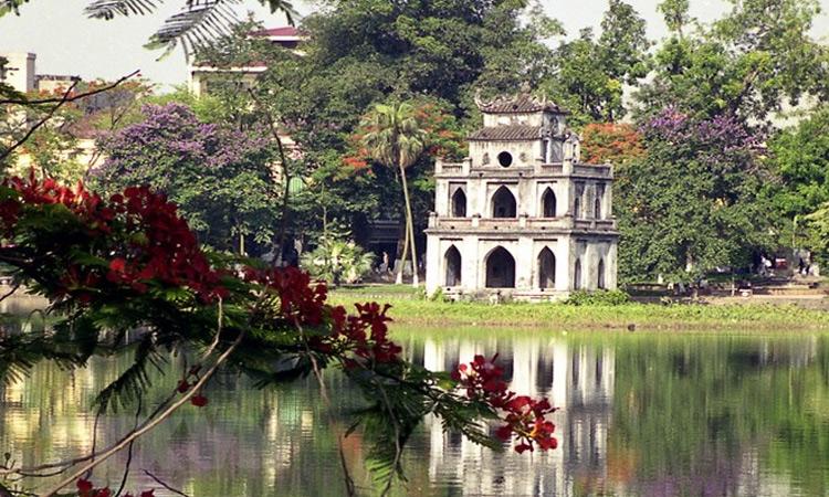 ảnh Hồ Gươm Hà Nội - bình dị