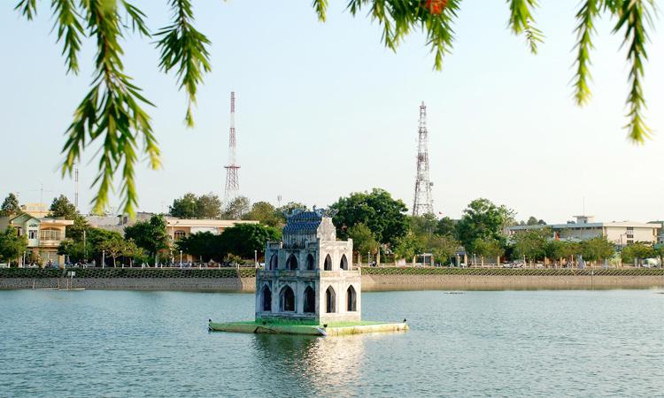 ảnh Hồ Gươm Hà Nội - tĩnh lặng