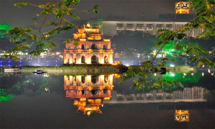 ảnh Hồ Gươm Hà Nội - lung linh