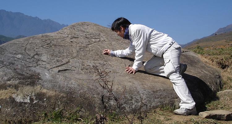 Bãi đá cổ Sapa - nhà giả học