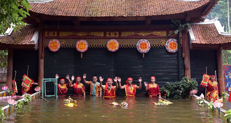 Bảo tàng dân tộc học Việt Nam - múa rối nước