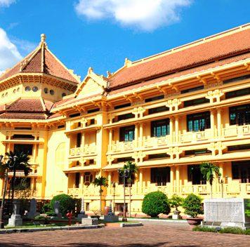 Bảo tàng lịch sử Việt Nam giữa lòng Hà Nội