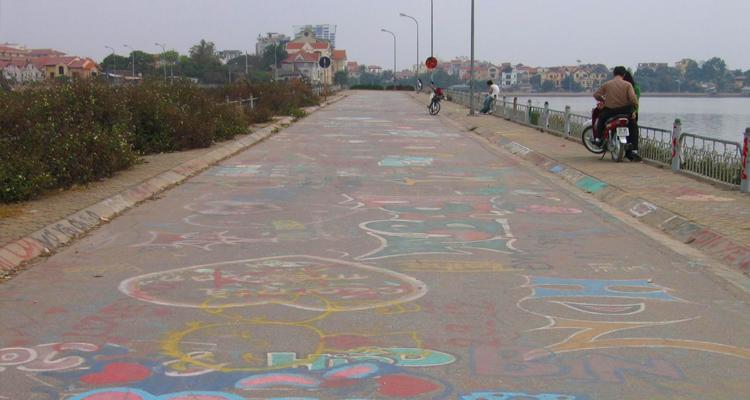 Bến Hàn Quốc Graffiti