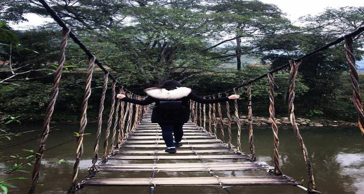 Trải nghiệm đi trên Cầu Mây Sapa