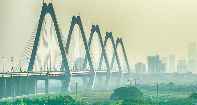 Cầu Nhật Tân ở đâu Hà Nội