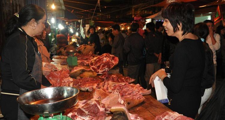 Thịt bò Chợ Viềng Nam Định