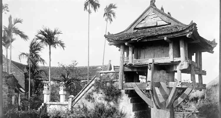 Giới thiệu chùa Một Cột xưa