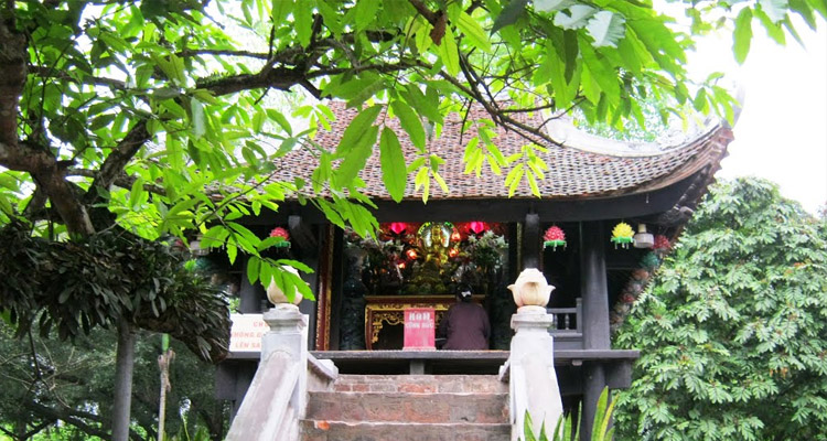 Giới thiệu chùa Một Cột 1