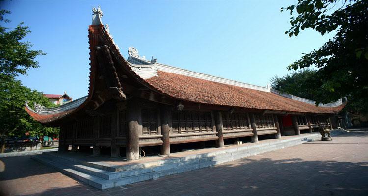 Đình Bảng ở gần chùa Phật Tích