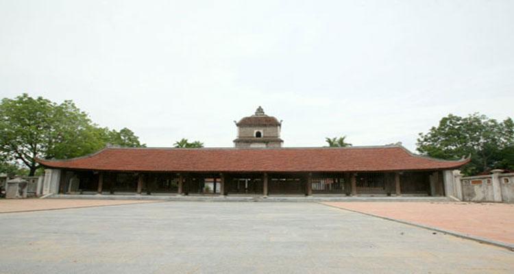 Chùa Dâu gần chùa Phật Tích