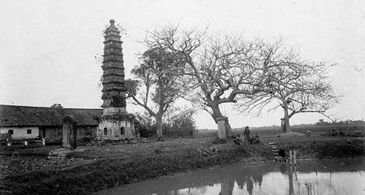 Chùa Phổ Minh ngày xưa